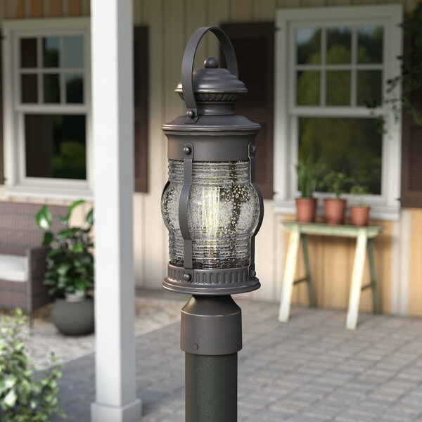 Laxford Outdoor 1-Light Lantern Head by Beachcrest Home