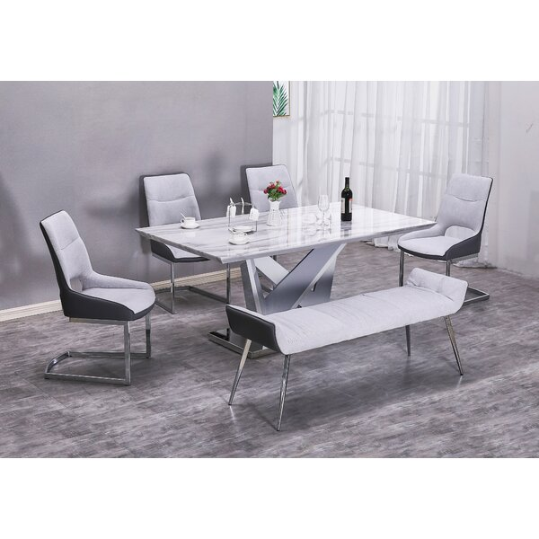 Mudd 6 Piece Dining Set by Orren Ellis