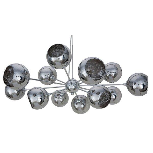 12 - Light Sputnik Sphere Chandelier By Nuevo