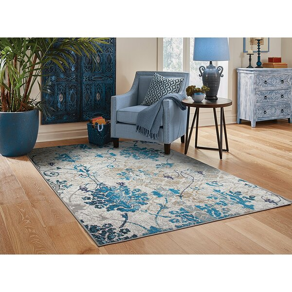 Kirts Gray Indoor/Outdoor Area Rug by Winston Porter