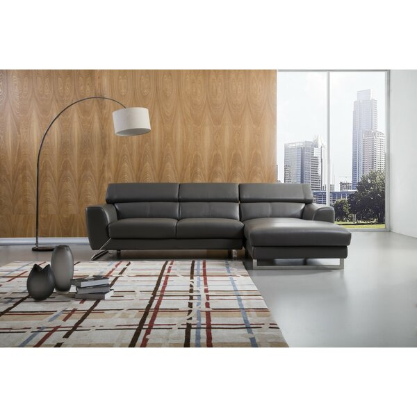 Famous Brands Theriot Sectional by Orren Ellis by Orren Ellis