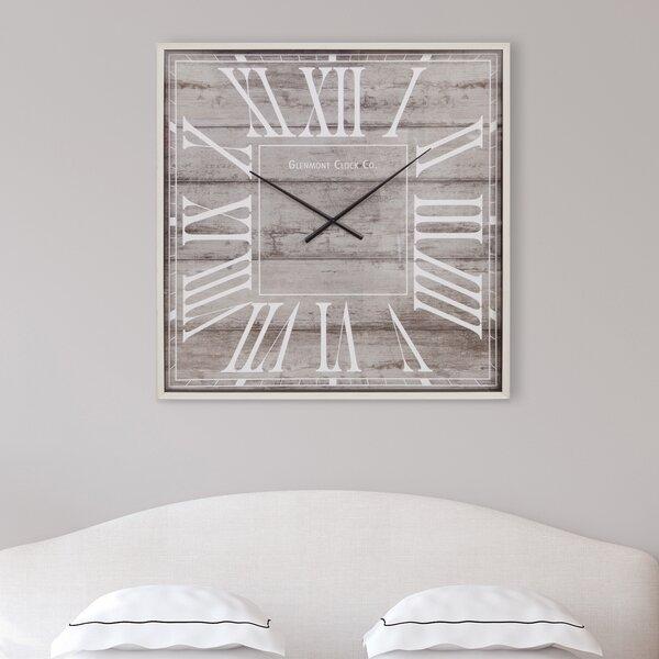 Rustic Light Wall Clock by Nielsen Bainbridge