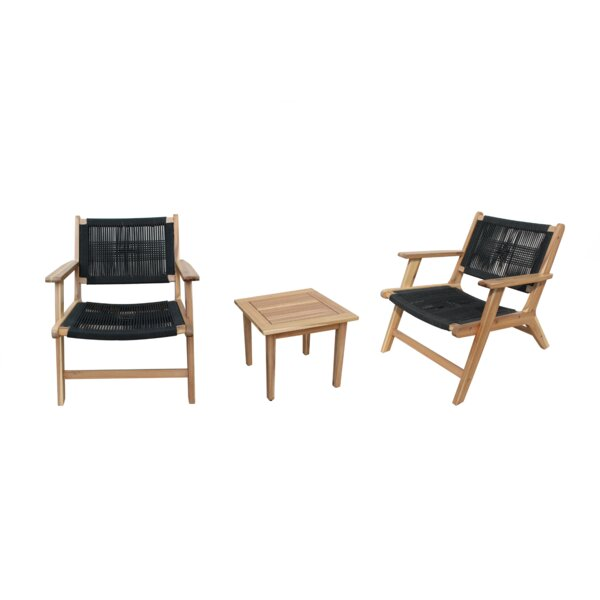 Waltrip 3 Piece Seating Group with Cushions