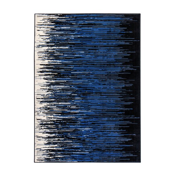 Gonvick Weave Blue Area Rug by Wrought Studio