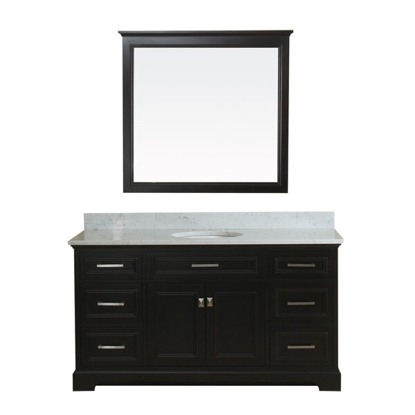 Coston 61 Single Bathroom Vanity Set with Mirror by Red Barrel Studio