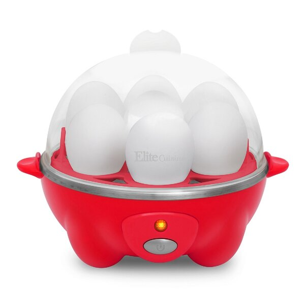 Cuisine Automatic Easy Egg Cooker by Elite by Maxi-Matic