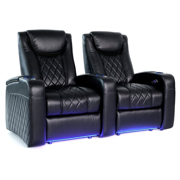 Azure HR Series Home Theater Recliner (Row Of 2) By Red Barrel Studio