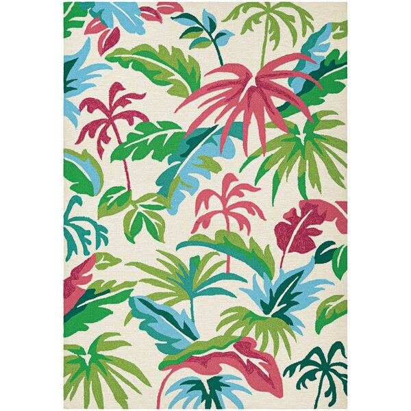 Wallingford Hand-Knotted Indoor/Outdoor Area Rug by Bay Isle Home