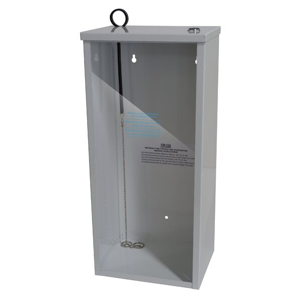 Surface Mount Fire Extinguisher Cabinet by Buddy Products