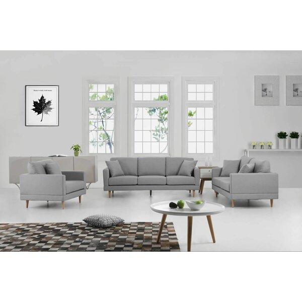 Rodney 3 Piece Living Room Set by George Oliver