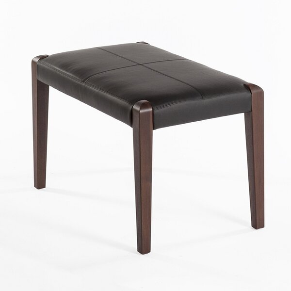 DCOR Design Leather Ottomans