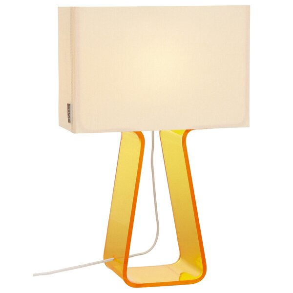 Colorful Tube Top 14'' Table Lamp by Pablo Designs