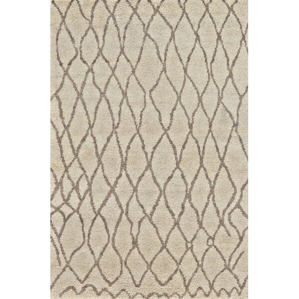 Bluestem Hand-Knotted Natural/Bone Area Rug by Union Rustic