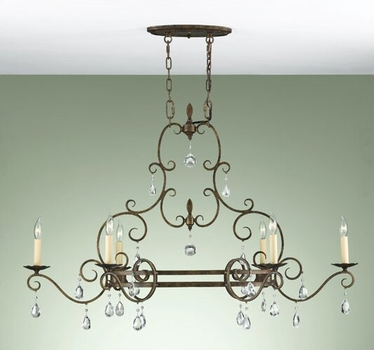 Herkimer 6-Light Candle Style Classic / Traditional Chandelier by House of Hampton House of Hampton