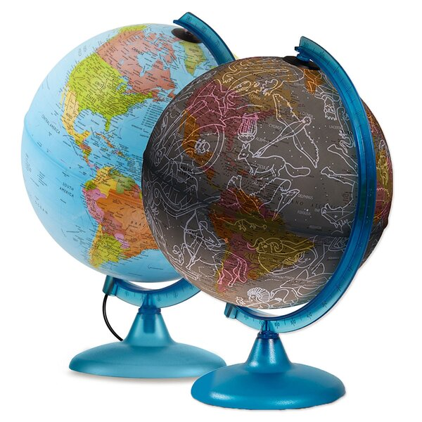 Earth and Sky Exploration Globe by Latitude Run