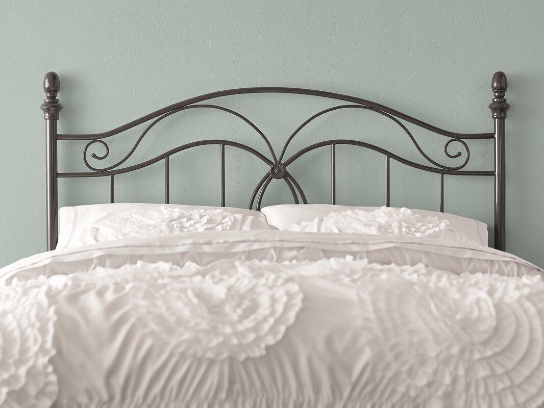 Charlton Home Crocker Bedroom Metal Headboard & Reviews