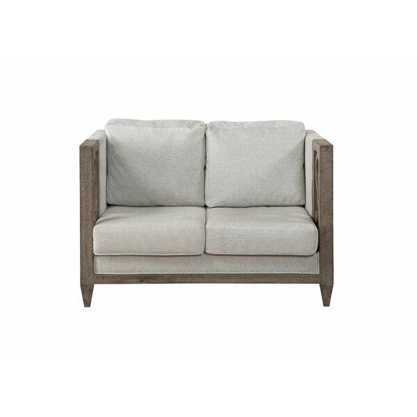 Patio Furniture Antwan Chesterfield Loveseat