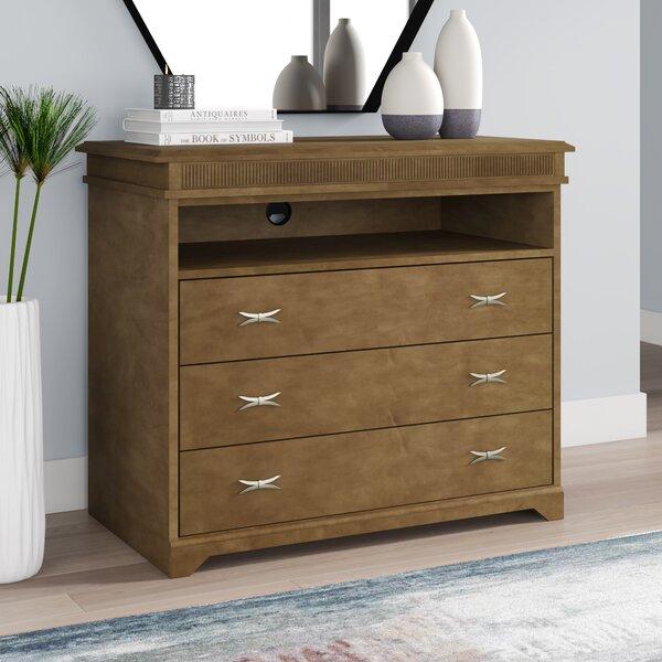 Avalon 3 Drawer Dresser By Akin