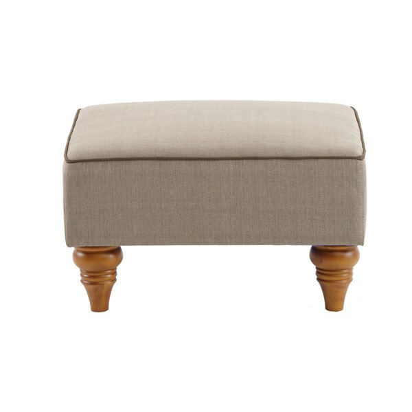Esmond Outdoor Ottoman with Cushion by Darby Home Co