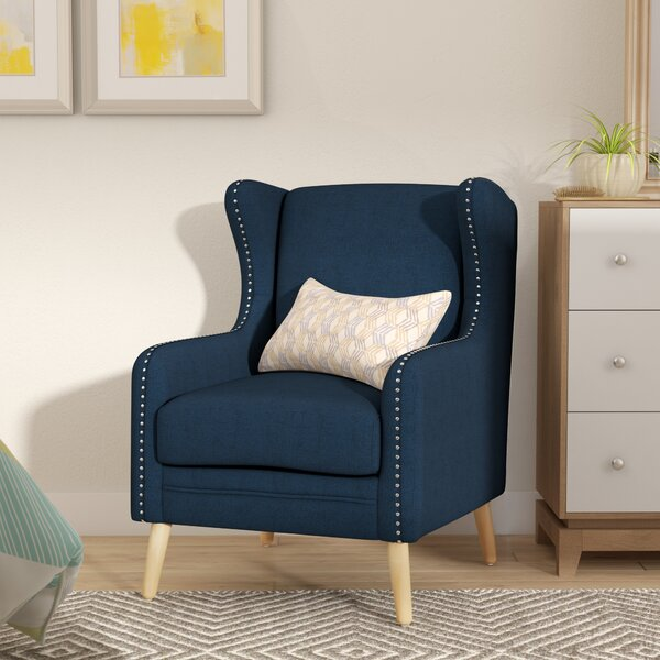 Bouffard Wingback Chair by Mercury Row