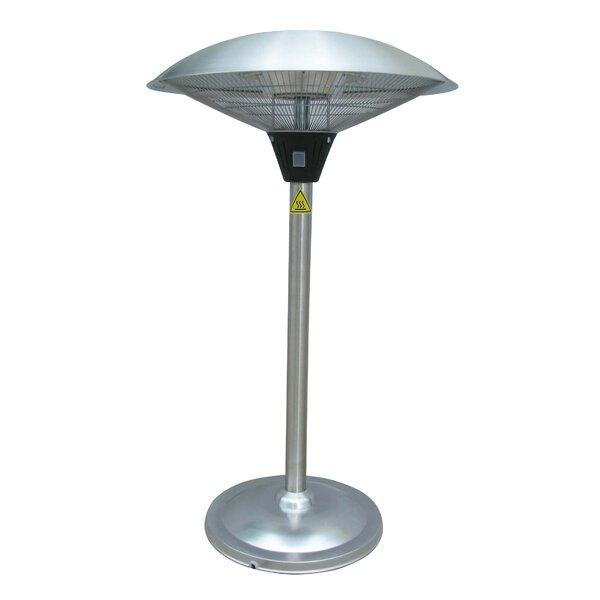 1500 Watt Electric Tabletop Patio Heater by AZ Pat