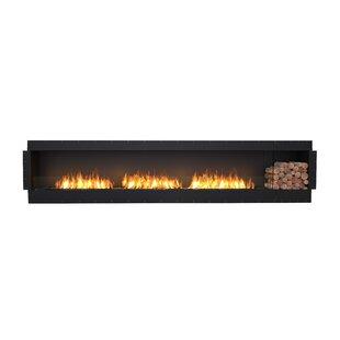 FLEX140 Single Sided Wall Mounted Bio-Ethanol Fireplace Insert By EcoSmart Fire
