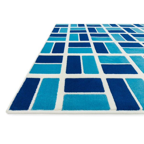 Stacy Blue Area Rug by Harriet Bee