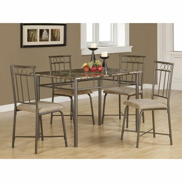 Beschman Casual 5 Piece Bar Height Dining Set by Red Barrel Studio Red Barrel Studio