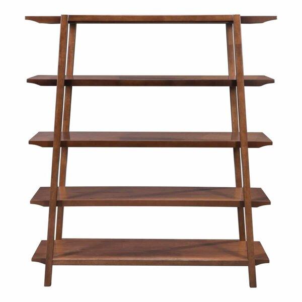 Aahil Alexander Shelf Standard Bookcase by Corrigan Studio