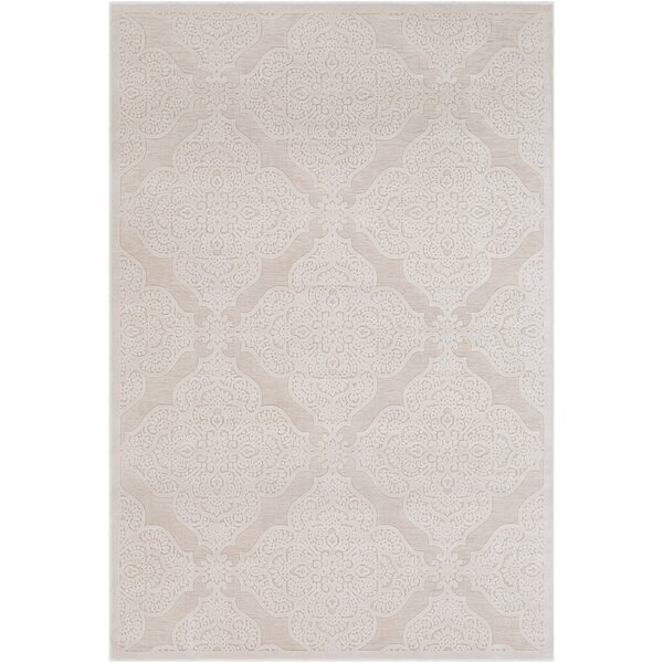 Geir Cream Area Rug by Ophelia & Co.
