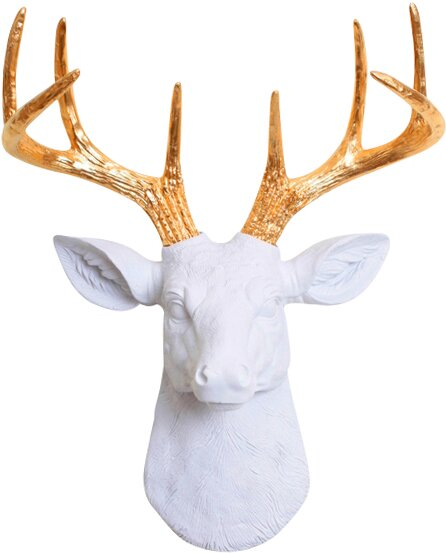 The Mini Deer Head Wall Décor