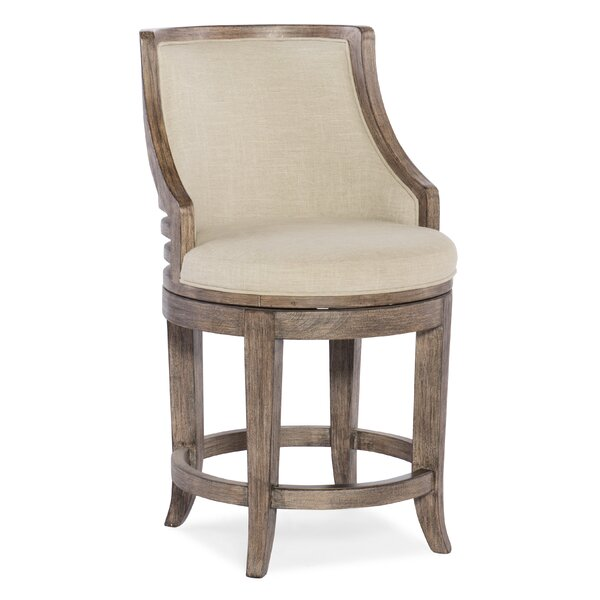 Lainey Counter Swivel Bar Stool by Hooker Furniture