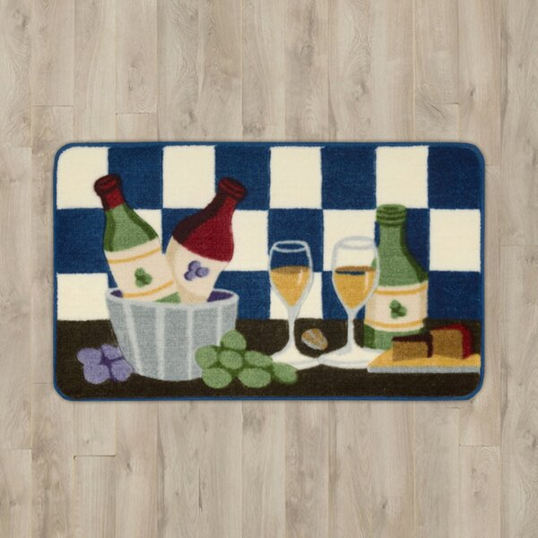 Poquonock Wine Area Rug by Charlton Home