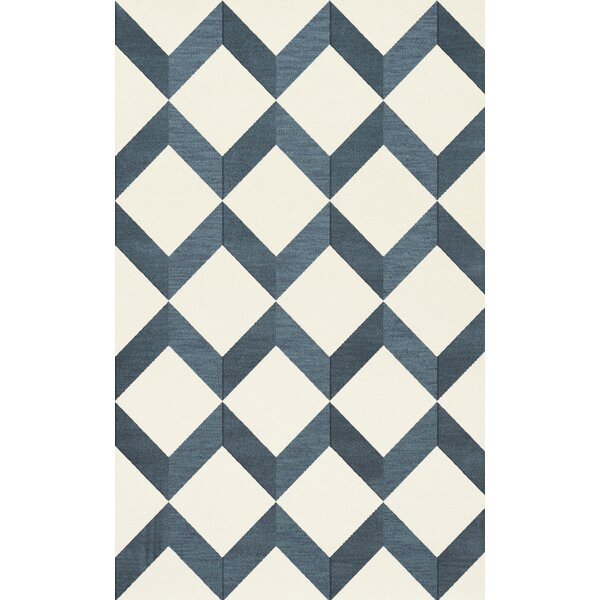 Bella Blue/White Area Rug by Dalyn Rug Co.