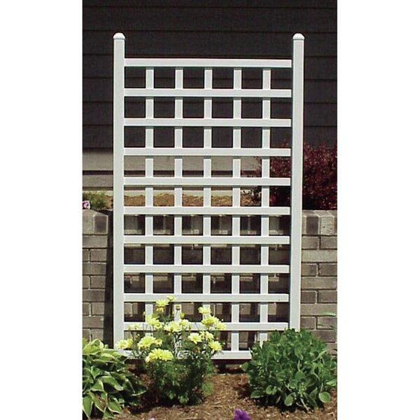 Country Garden Vinyl Lattice Panel Trellis by Dura-Trel