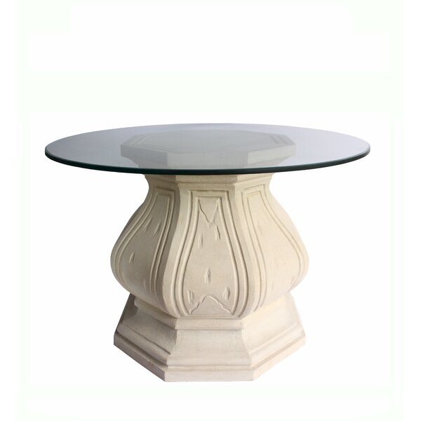 Eulalie Glass Dining Table by Astoria Grand