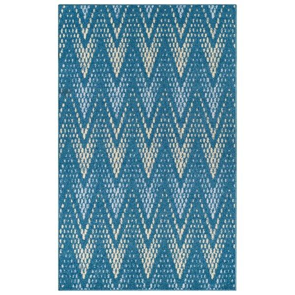 Vergara Arete Blue Area Rug by Wrought Studio