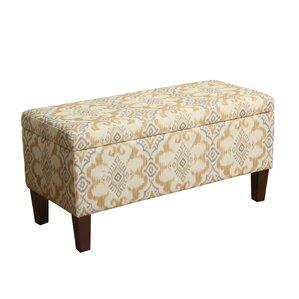 Azalea Upholstered Storage Bench by Bungalow Rose