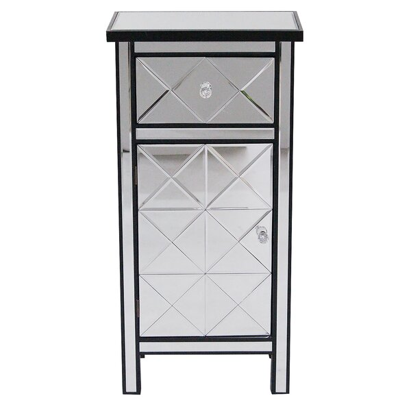 Dareau 1 Door Accent Cabinet by House of Hampton House of Hampton