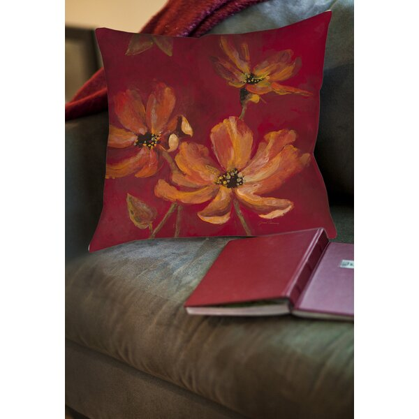 Alok Printed Throw Pillow by Red Barrel Studio