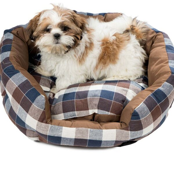 Hasley Round Pet Bolster with Comfortably Padded by DR International