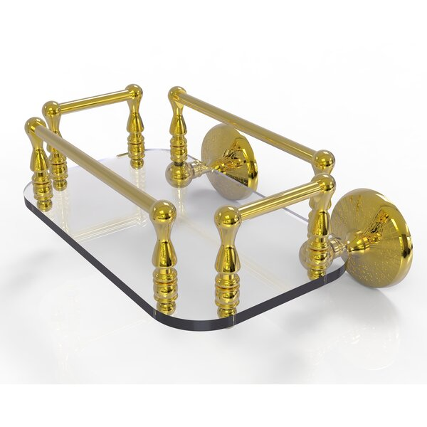 Monte Carlo Wall Mount Soap Dish by Allied Brass