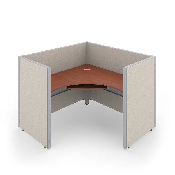 Workstation Panel System 1x1 Configuration with Vinyl Panels by OFM