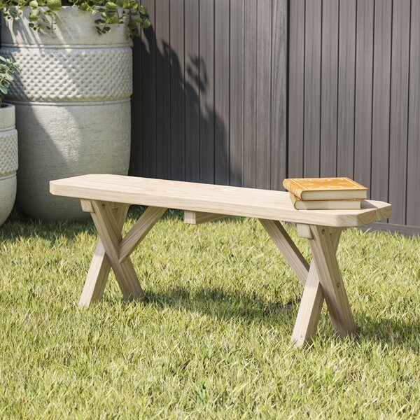 Sempronius Wood Picnic Bench by Loon Peak