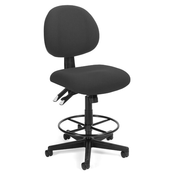24 Hour Mid-Back Drafting Chair by OFM