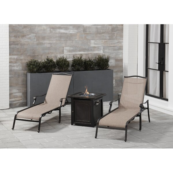 Carlee 3 Piece Seating Group by Fleur De Lis Living