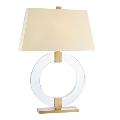 Abdallah 1 Light Table Lamp by Everly Quinn