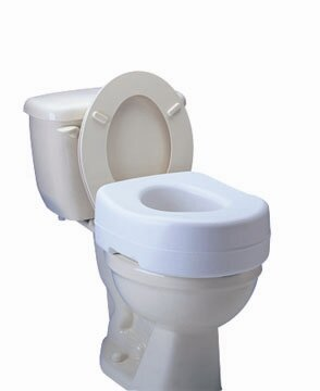 Raised Toilet Seat by Carex