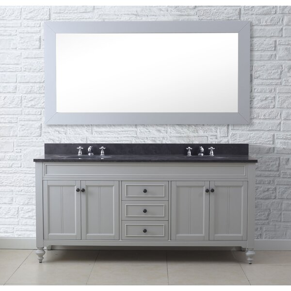 ShipstStour 72 Double Bathroom Vanity Set by Charlton Home