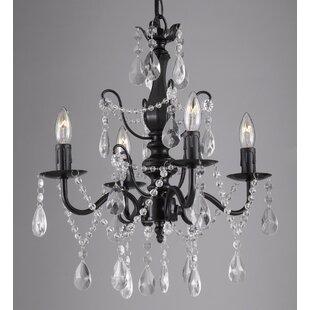 Black chandeliers youll love wayfair save to idea board aloadofball Gallery